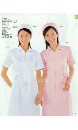 护士工作服怎么穿最合体-